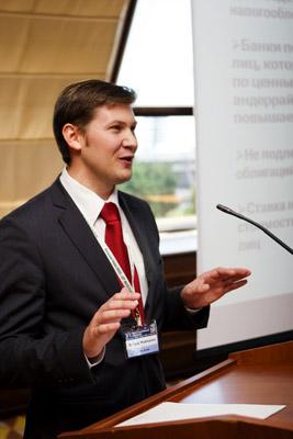 Директор департамента международных и фондовых операций ЗАО «Альфа-Банк» (Беларусь) Сергей Муханов