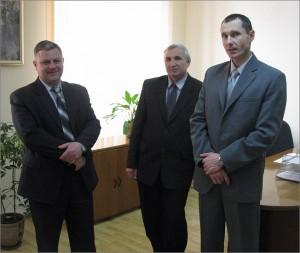 Владимир Усенко, Эдуард Лавренюк, Сергей Шек